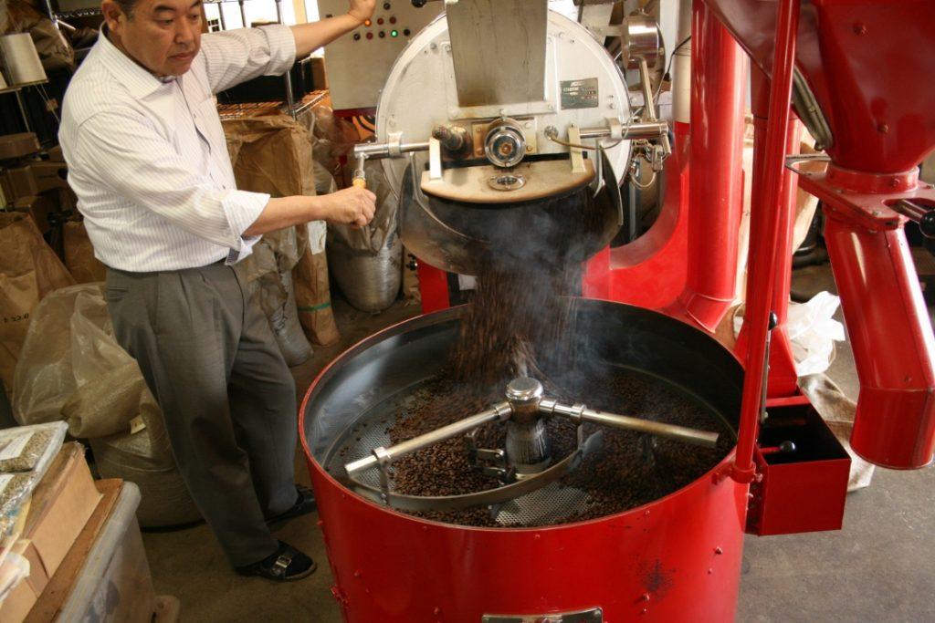 早川コーヒー焙煎