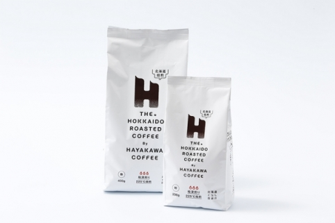 北海道くらし百貨店オリジナルブレンド THE HOKKAIDO ROASTED COFFEE 早川コーヒー