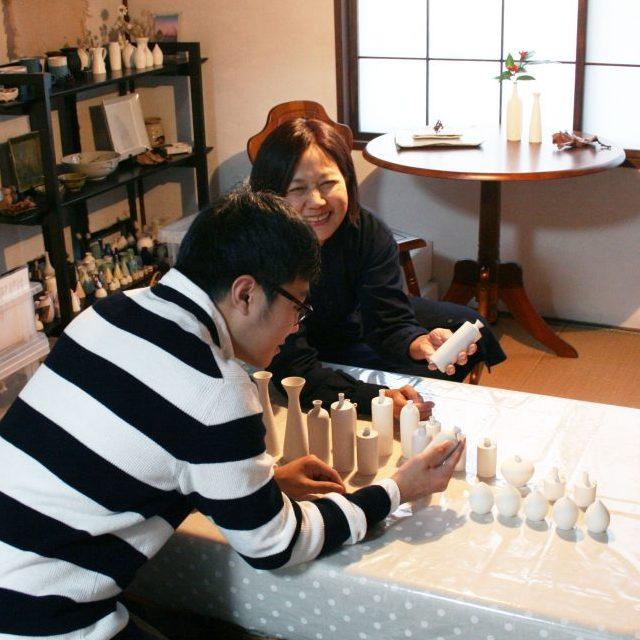 釧路で活躍する作家のポートレイト
