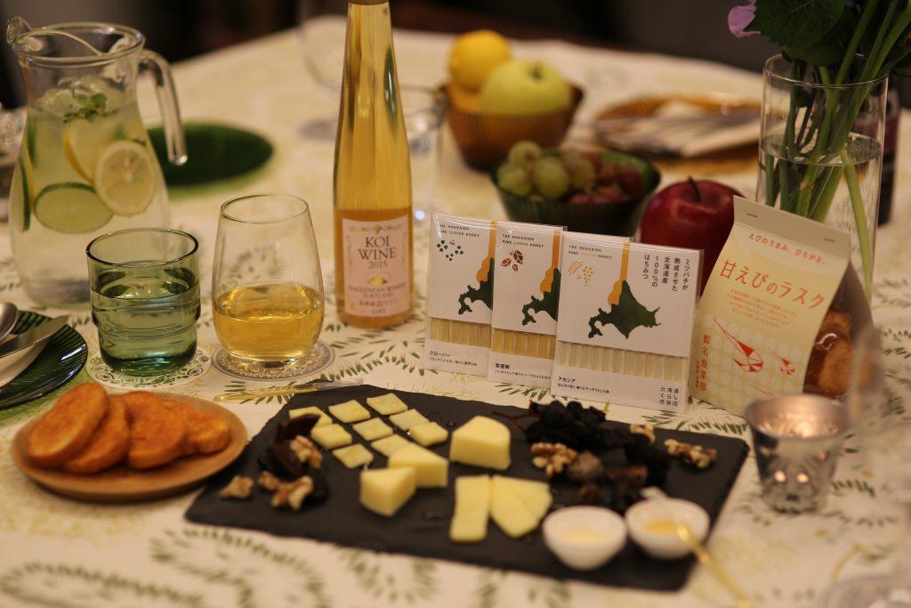 北海道くらし百貨店チーズドライフルーツ