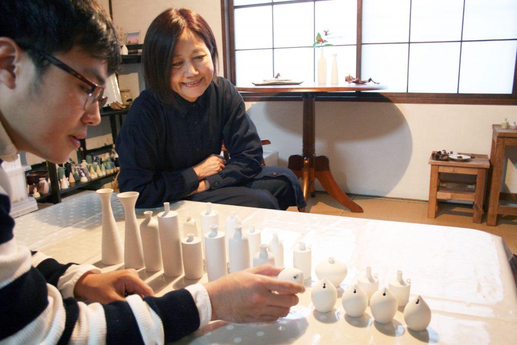 松村上久郎さんとasanomiさんと作品