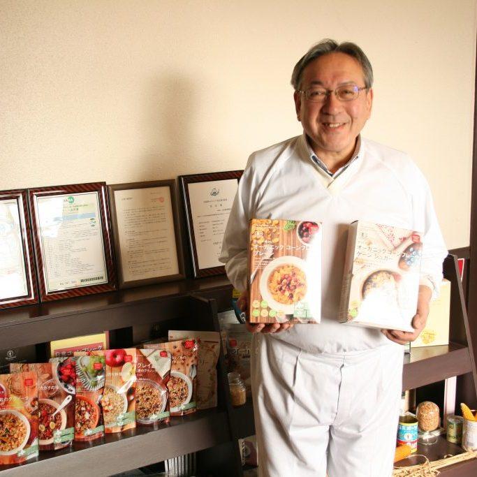 日本食品製造合資会社 黒瀬工場長のポートレイト