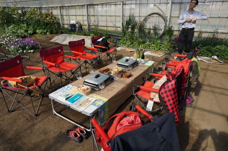 農場ピクニック長いも掘り体験贅沢ランチ