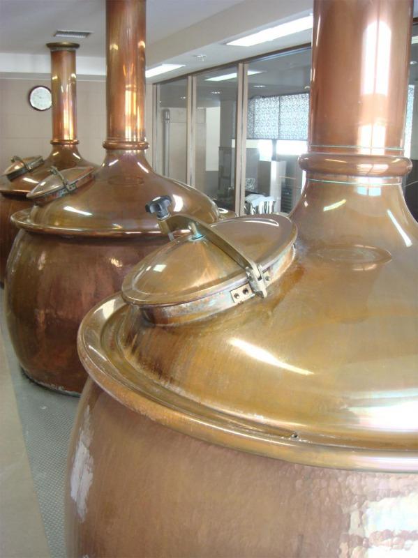 網走ビール製造工程