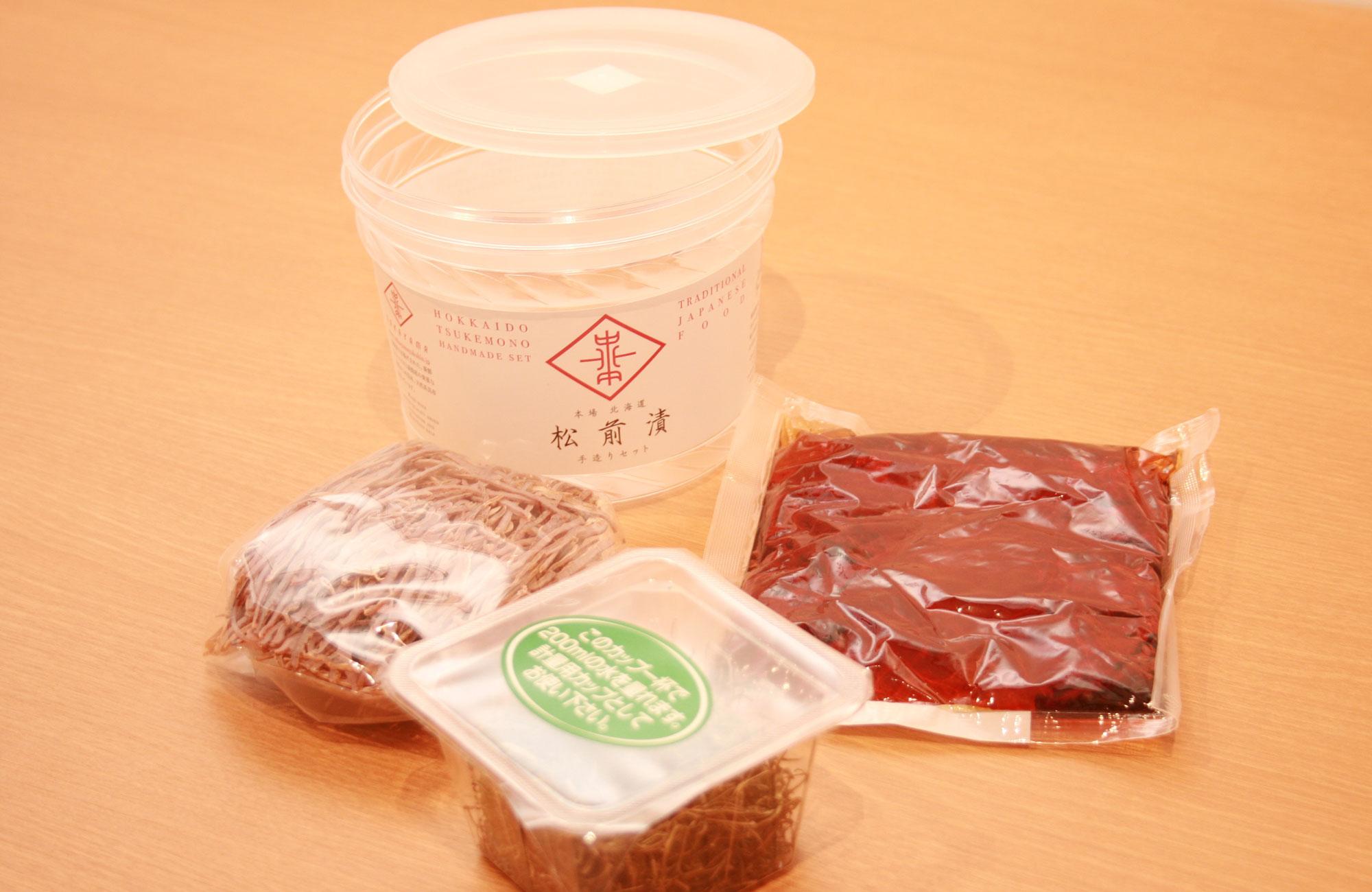 医食同源 天然がごめ昆布使用 松前漬手作りセット セット内容