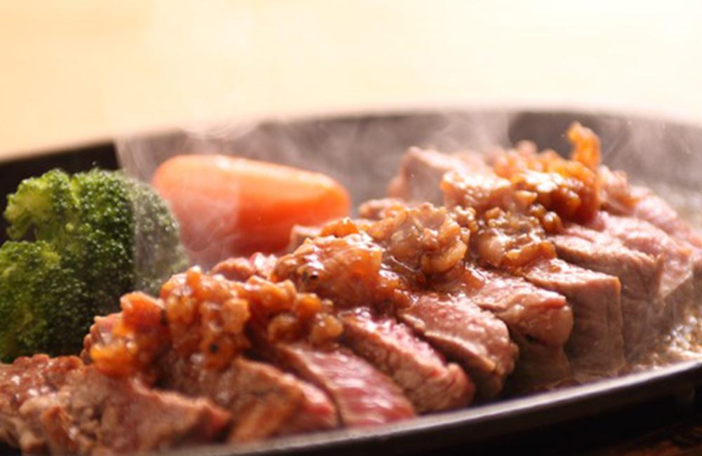 肉ソン大統領 秘伝の肉ドレ 調理イメージ