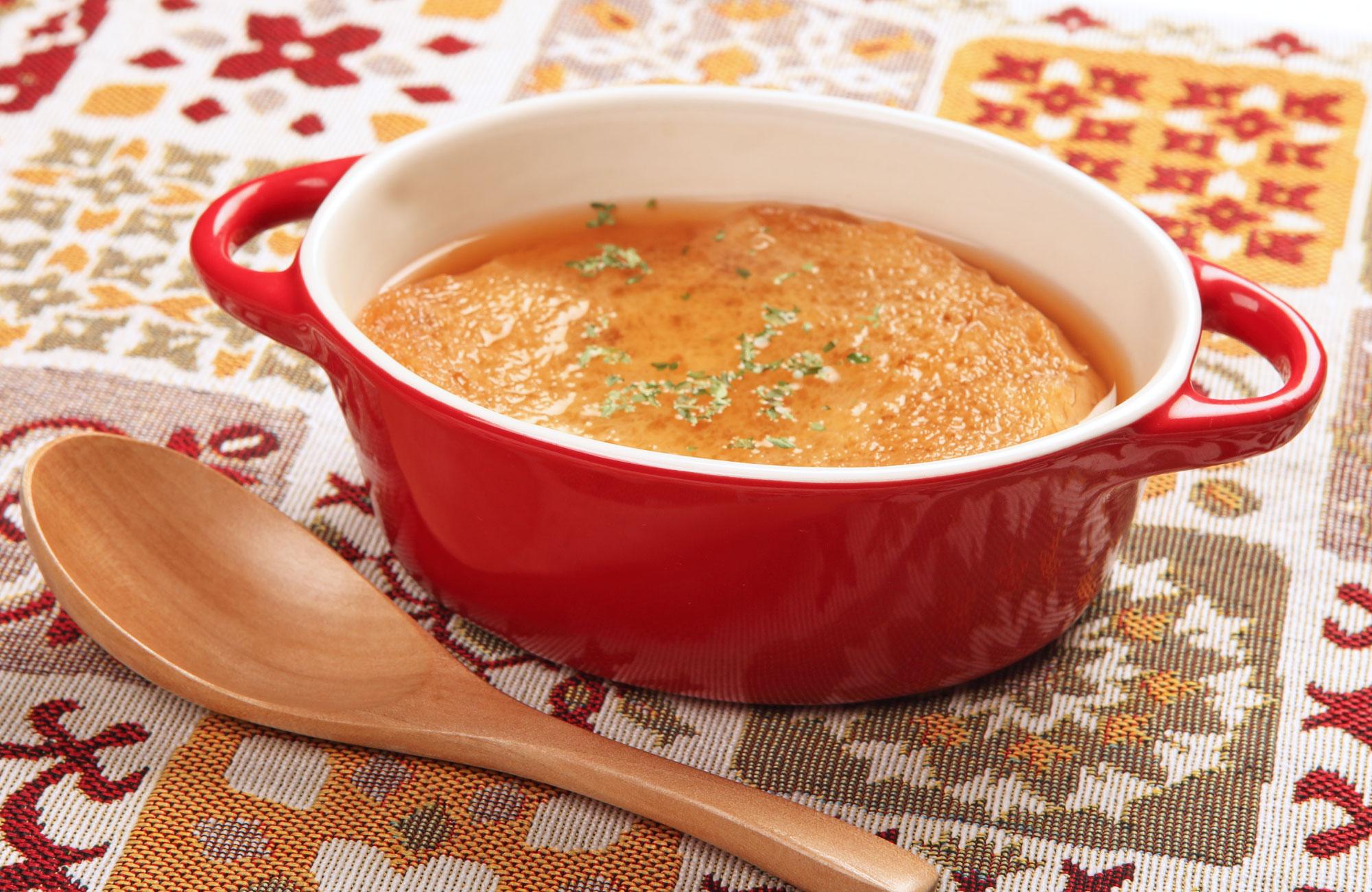 北海道北見たまねぎがたっぷりの濃厚スープ